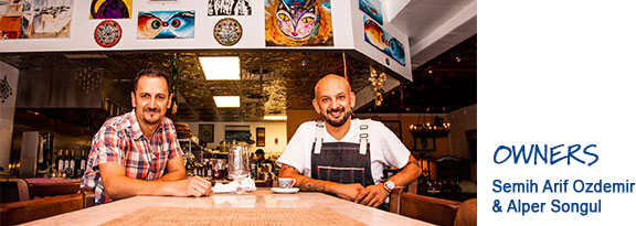 Agora Owners Semih and Alper