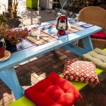 Agora Mediterranean Patio Dining
